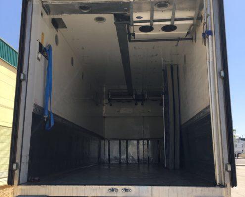 camión mercancías perecederas